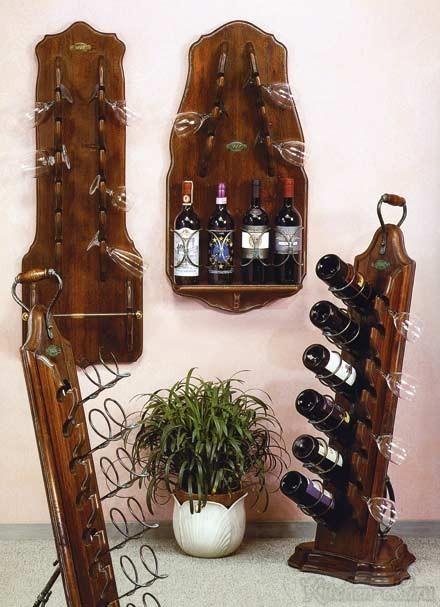 Как сделать бутылочницу из дерева