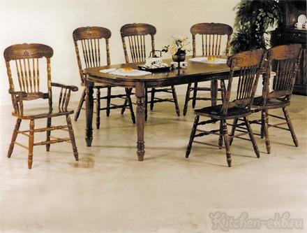Стол 4278 STL, стул 838 S