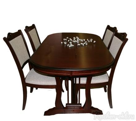Обеденная группа Стол «4260 STC», стул «HM 616»