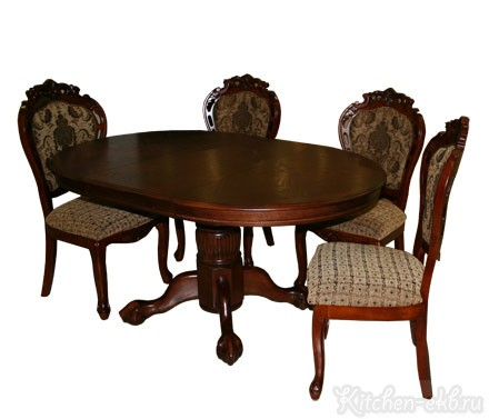 Столовая зона Стол «Royal», стул «Теодор»