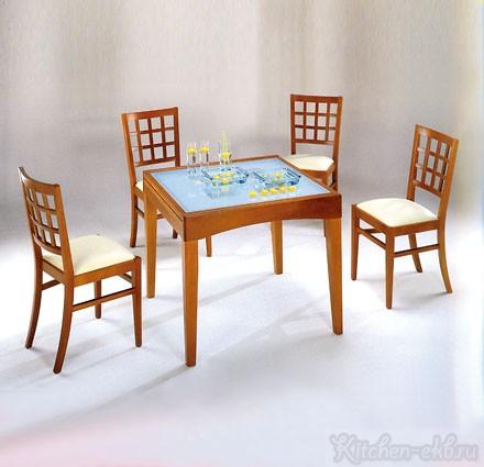 Обеденная группа Стол «Рим» / стул «Марко»