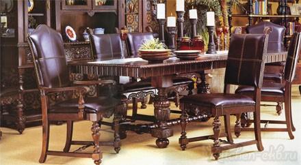 Обеденный стол и стул SOUTH AMERICA