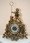 Часы бронза, арт. 7121