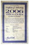 """Сувенир """"1миллион долларов США"""""""